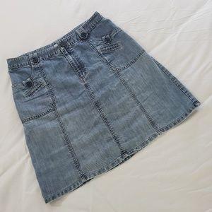 Cherokee Denim Jean Skirt Plus Size 16